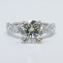 Shared Prong Diamond Engagement Ring | Other Recently Purchased Rings