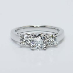 Trellis Three Diamond Round-Cut Engagement Ring (1/2 ctw) | Other Recently Purchased Rings