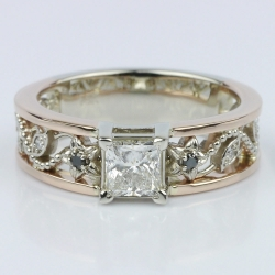 Vintage Rose Gold Floral Filigree Engagement Ring | Other Recently Purchased Rings