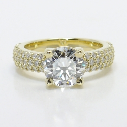 Yellow Gold Pave Diamond Ring | Other Recently Purchased Rings