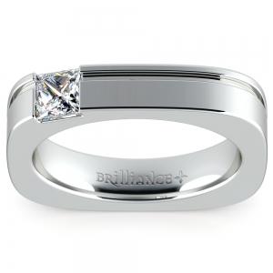 Achilles Princess Solitaire Mangagement™ Ring (1/2 ctw)
