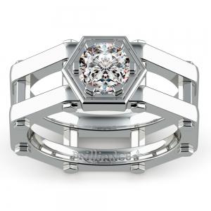 Daedalus Solitaire Mangagement™ Ring (1 ctw)