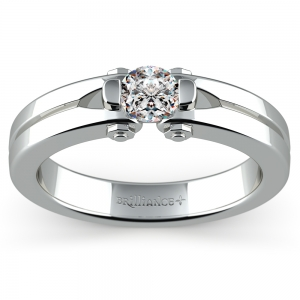 Perses Solitaire Mangagement™ Ring (1/2 ctw)