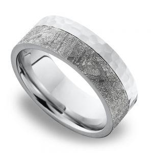 Meteorite Wedding Ring | Incredible Men S Meteorite Wedding Rings