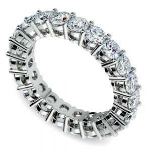 Diamond Eternity Band in White Gold (3 ctw)