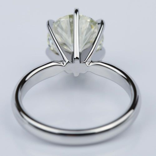 Six-Prong 2.15 Carat Round Solitaire Engagement Ring  | Image 04