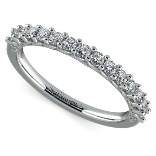 Reverse Trellis Diamond Wedding Ring in Platinum | Brilliance.com Top Ten Wedding Rings #4
