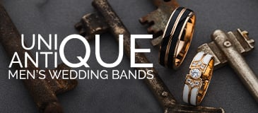 Unique Antique Men's Wedding Bands