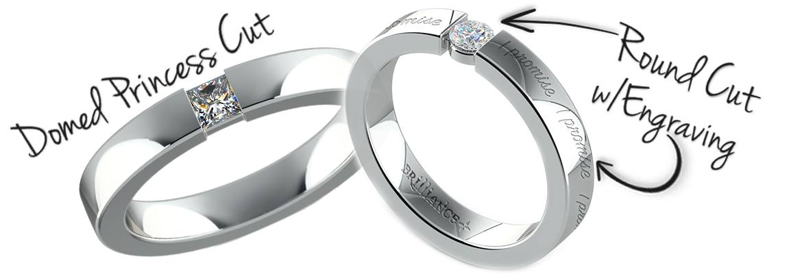 unique promise rings