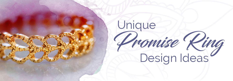 Unique Promise Ring Design Ideas