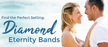 Settings for Diamond Eternity Wedding Bands